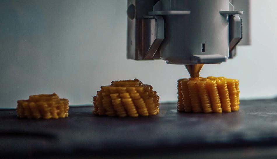 پرینتر سه بعدی در صنعت تغذیه