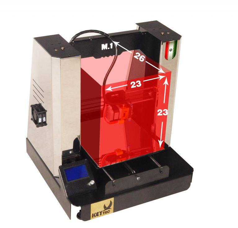 پرینتر سه بعدی KEYTEC مدل M1